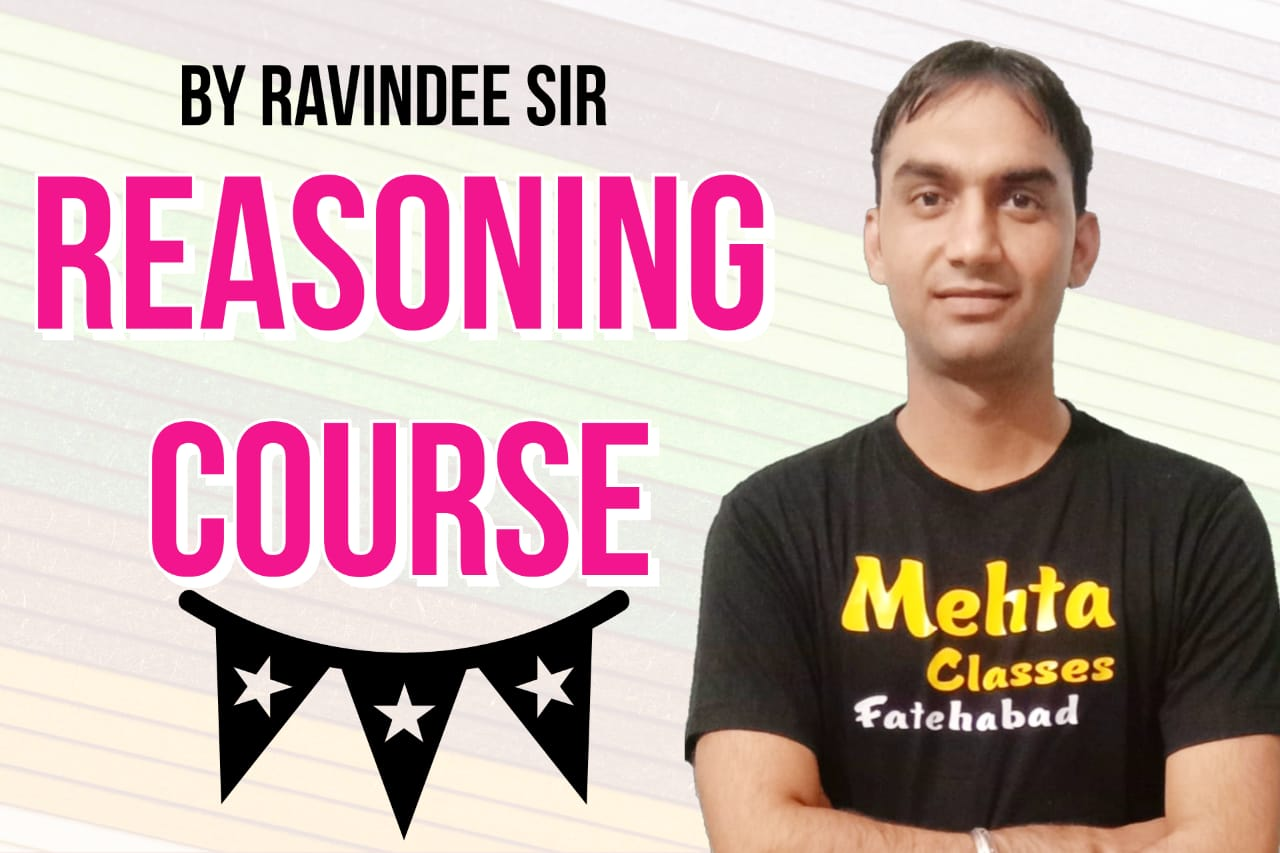 Reasoning By Ravinder