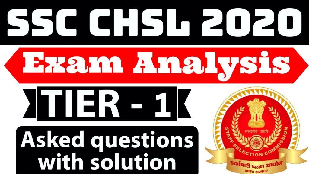 SSC CHSL Exam Analysis 2020