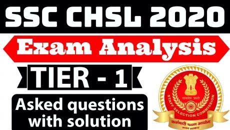 SSC CHSL Exam Analysis 2020